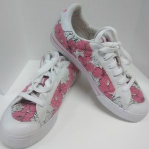 Adidas Stan Smith Black/White Floral Print Womens